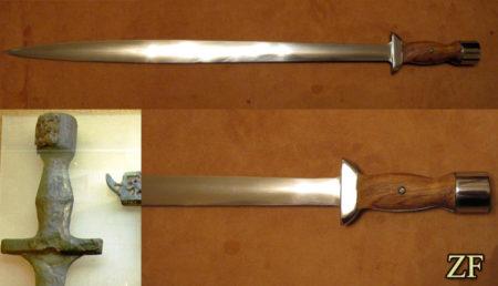 Ксифос — прямой обоюдоострый греческий меч, меч спартанцев