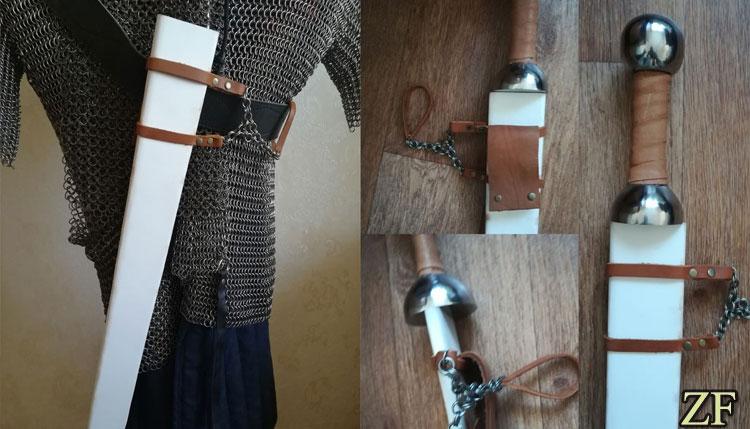 Ножны меча для ношения и защиты от влаги, поясные ножи