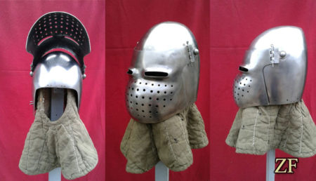 Рыцарский шлем бацинет
