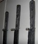 Корды либо тесаки, найденные в Болгарии