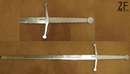 Клеймор - двуручный меч тип А