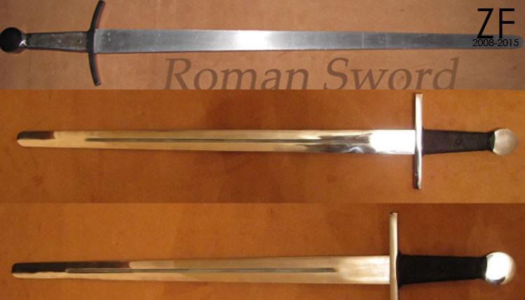 Романский меч Тип А, Б