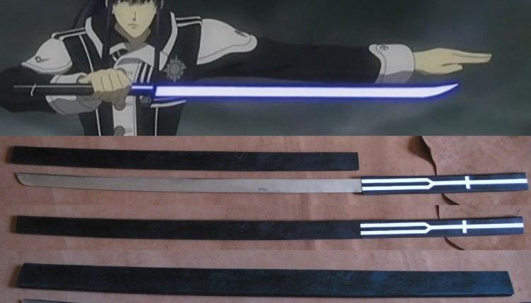 Меч Мугэн из аниме D.Gray-man
