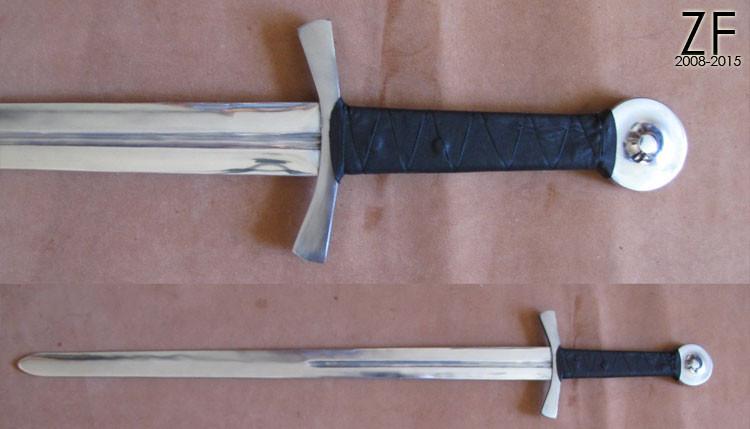 Тип XVIa по Окшотту из коллекции The Royal Armouries. IX. 1084. Formely D'Acre Edwards (дюраль)