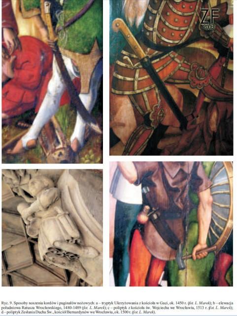 Лех Марек. Корды средневековья и нового времени из Силезии