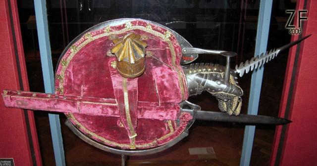 Рондаш траншейный или фонарный щит (Kunsthistorisches Museum in Vienna, made circa the 1540s)