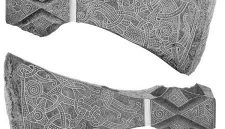 Боевой топор - любимое оружие суровых скандинавских мужчин
