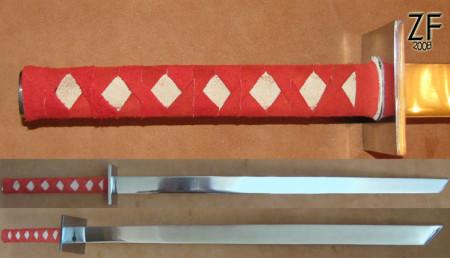 Синоби-кэн, синоби-гатана, меч ниндзя, купить у ремесленников