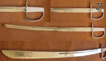 Польская сабля тип N1d с защитной дужкой