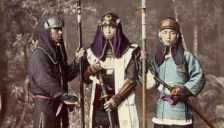 Нагината - боевое холодное оружие Японии