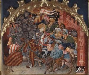Щит Адагра на миниатюре, Испания