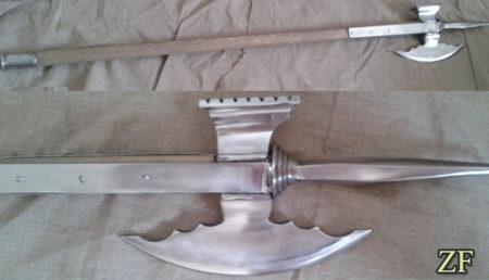 Полекс - двуручный боевой топор (древковое оружие Средневековья)