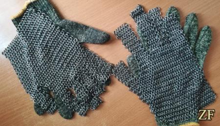 Кольчужная накладка для перчаток из кевлара, инвентарь для хардбола