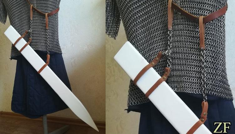 Ножны для меча, тип Б