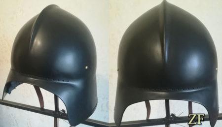Салад, рыцарский шлем, шлем нильфгаардской гвардии