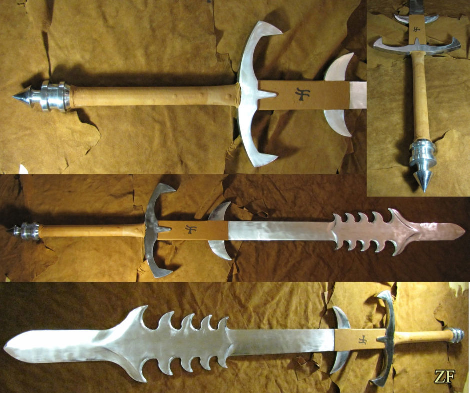 The Grandfather Colossus Blade меч из игры Diablo II