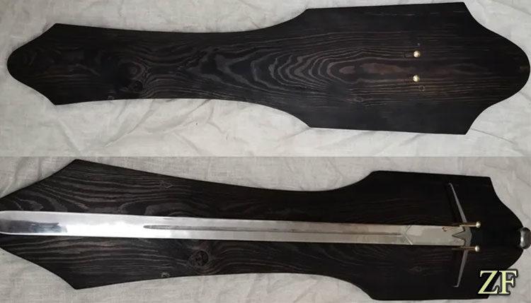 Подставка для европейского меча